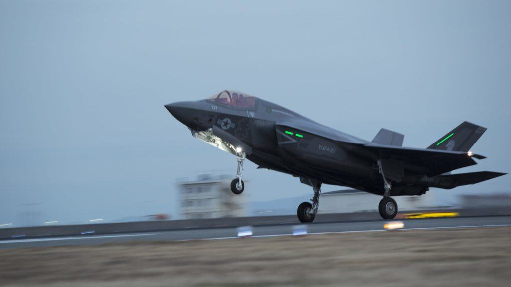 Marine F-35 Lightning fighters arrive in Japan