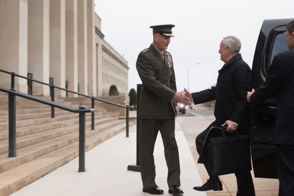 Mattis: 'I go by Jim,' not 'Mad Dog'