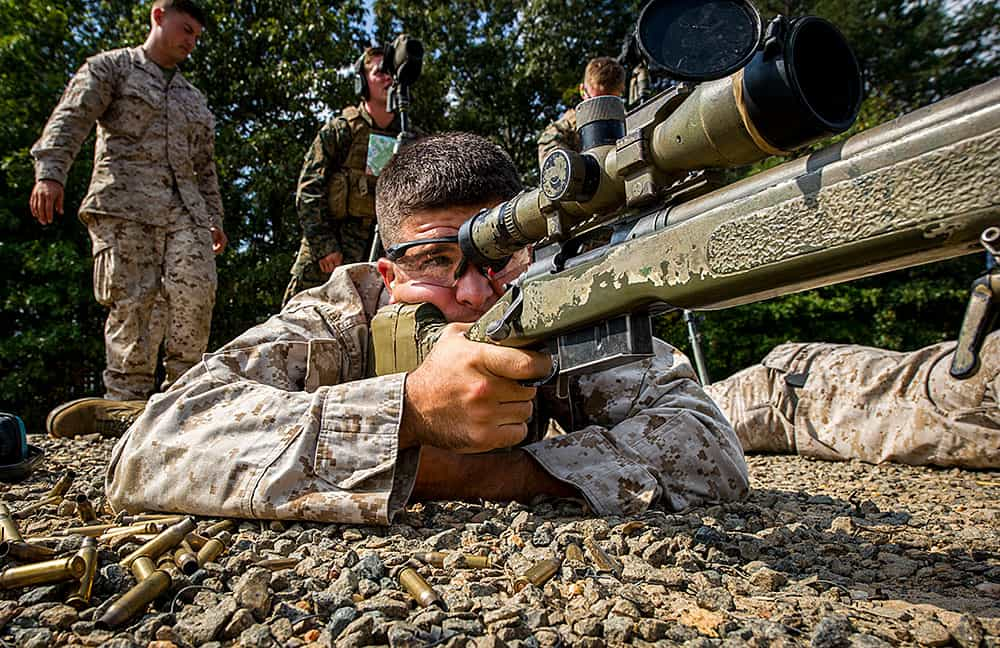 This is what makes Marine scout snipers so deadly