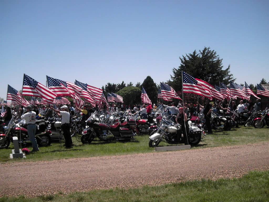 This is how the Patriot Guard escorted a fallen Marine home