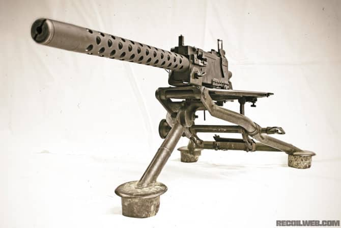 This is what made the M1919 Browning machine gun so deadly