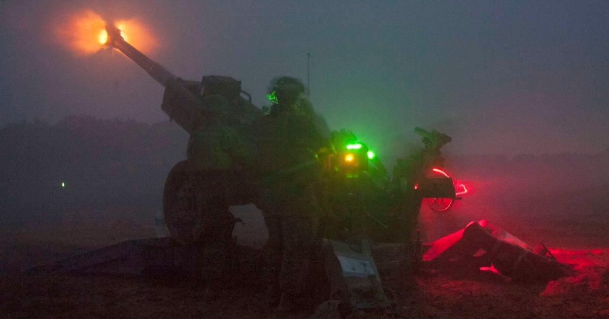 12 badass photos of artillery lighting up the night