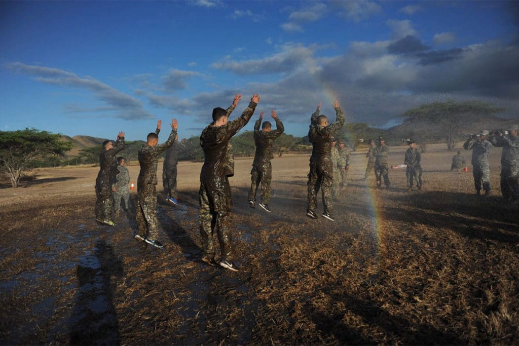 Here's what the first 36 hours of Marine Corps boot camp are like