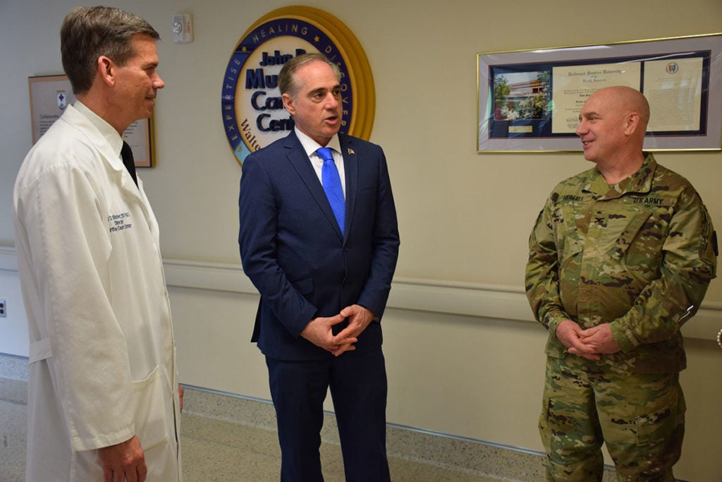VA chief takes aim at veteran homelessness