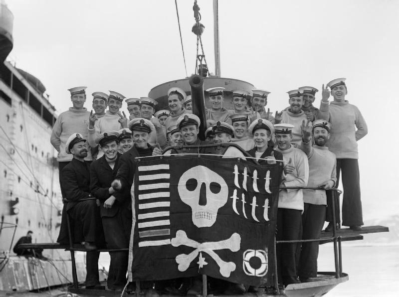 This British sub hoisted its own Jolly Roger after sinking an Argentine cruiser