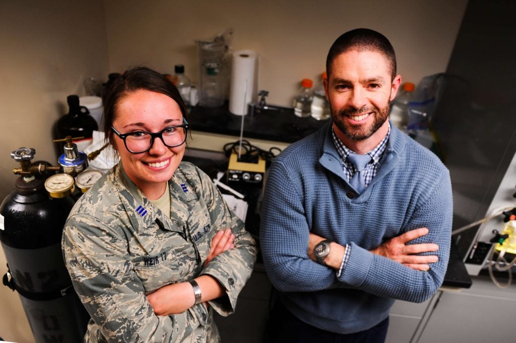 An Air Force Academy cadet created a bullet-stopping goo for body armor