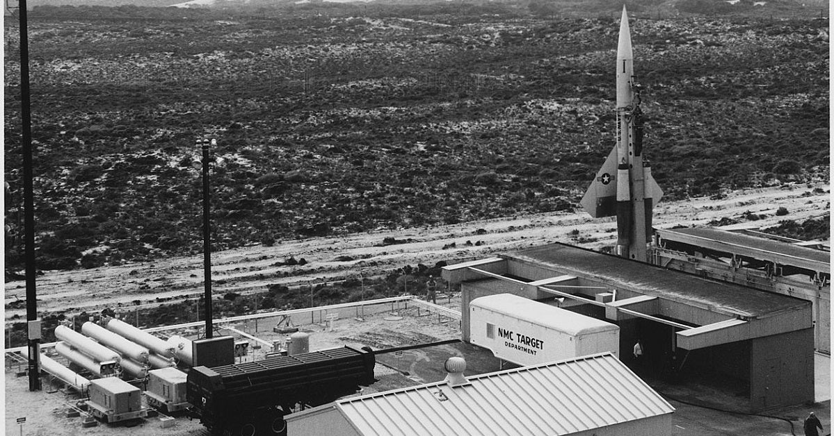 This American bomber-killing missile had a nuclear punch