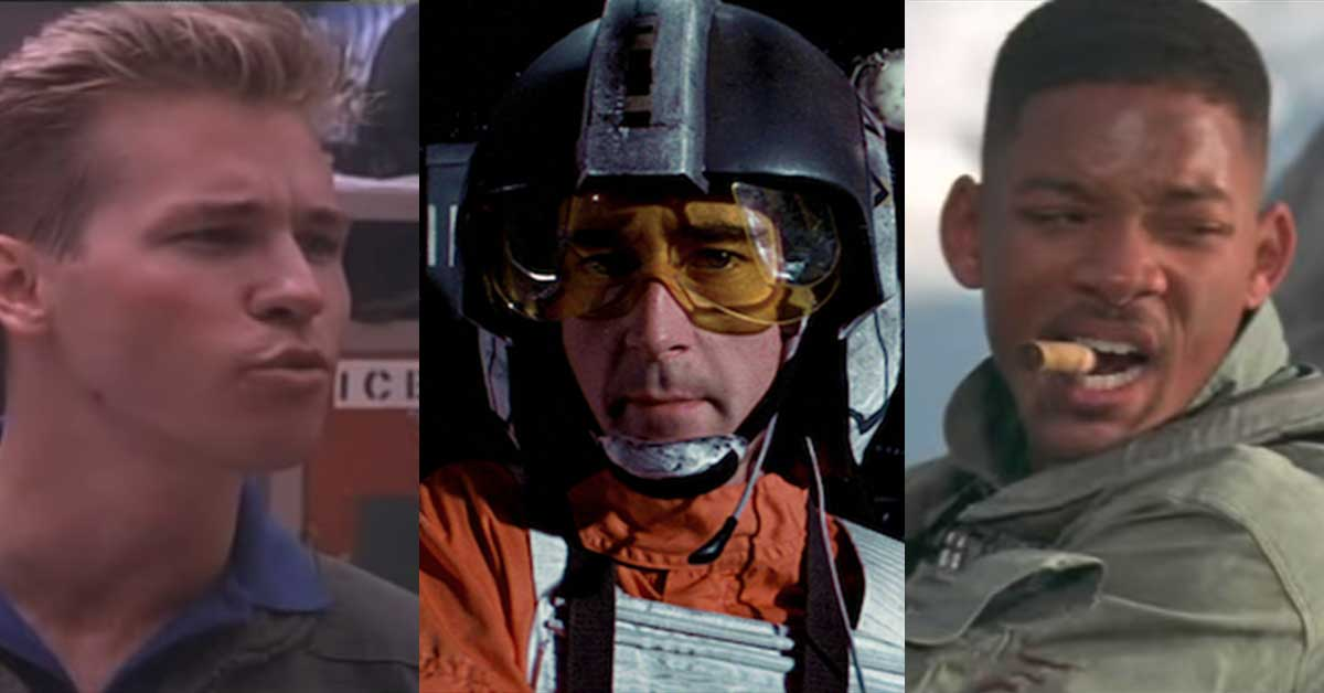 We decided to make the best fictional fighter squadron ever