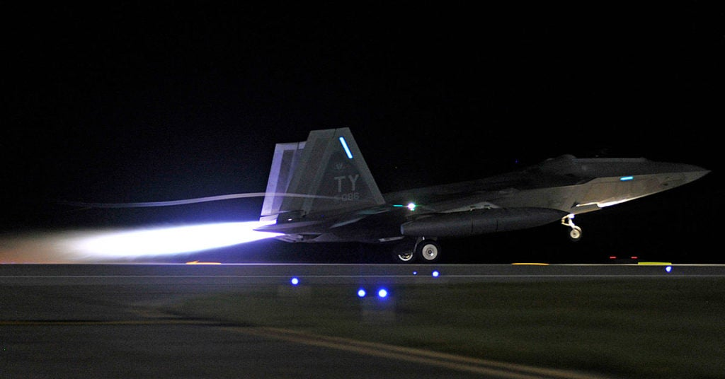 The Air Force can forget about buying more of the world's most advanced fighter