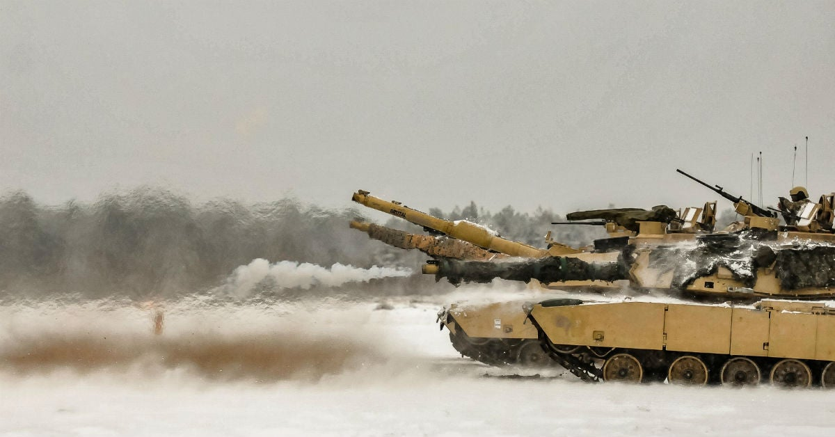 This is why a US Army brigade just blasted 1 million rounds of ammo in Europe