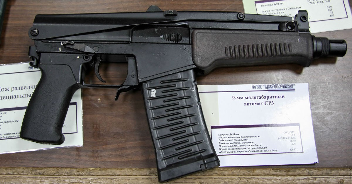 11 weapons used by Russia's elite Spetsnaz operators