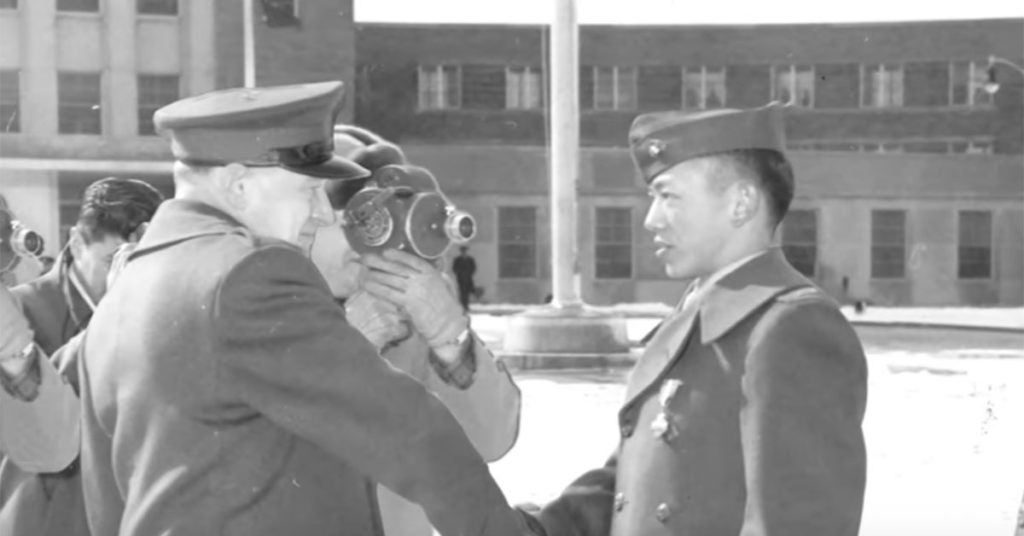 This is how the first Asian-American Marine officer saved 8,000 men