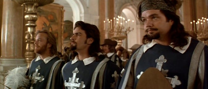 This is why there are four musketeers in every 'Three Musketeers' movie