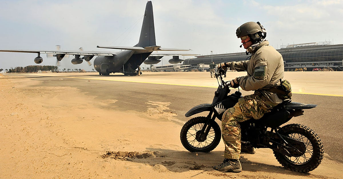 These are the high-tech motorcycles America's top troops ride into battle