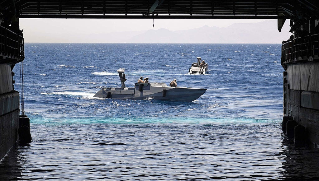 Navy SEALs are prowling the Middle East on these stealthy boats