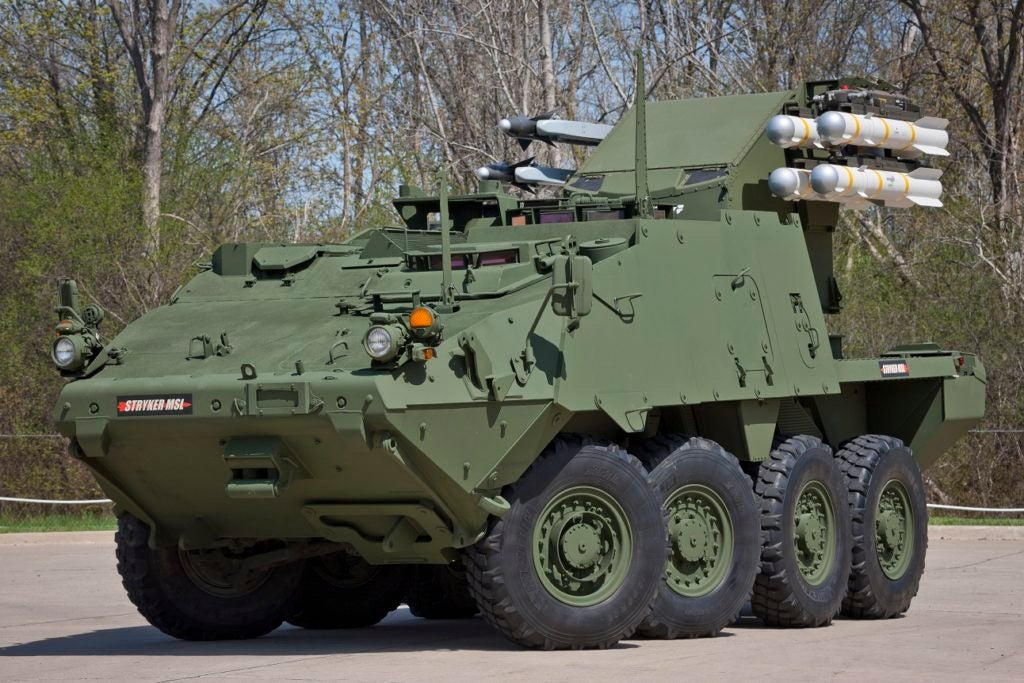 This new Army Stryker vehicle is America's latest plane killer