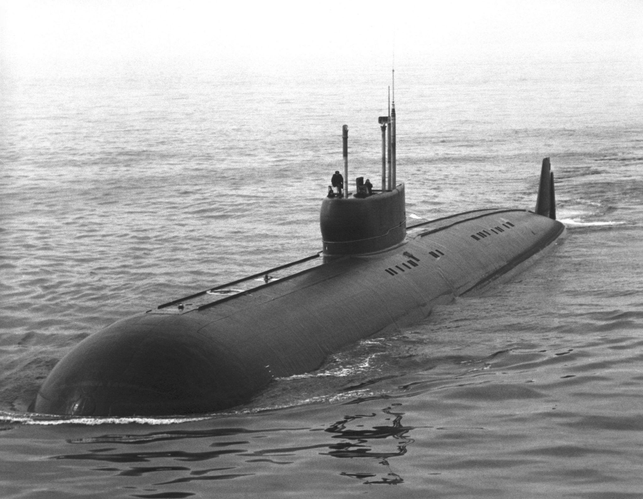 This may have been the fastest military submarine ever built