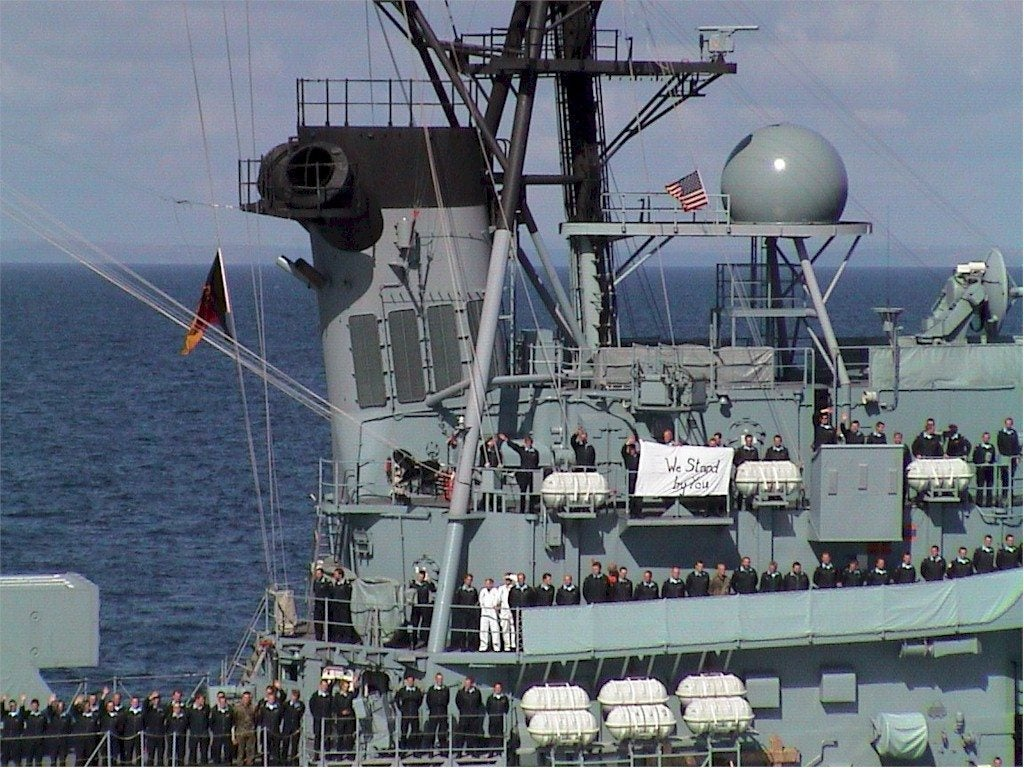 What the crew of this German warship did after 9/11 will give you chills