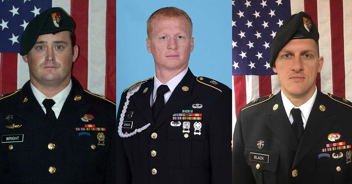 Pentagon identifies 3 Bragg soldiers killed in Niger ambush — 4th found dead