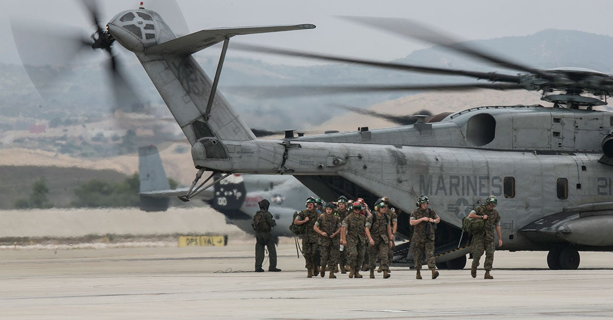 US military to ground CH-53 helicopters after accident in Okinawa
