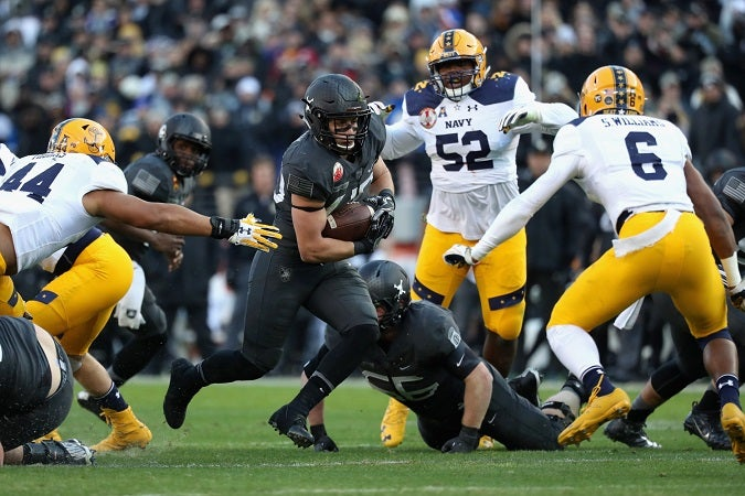 These are the top 5 Army-Navy games in the rivalry's history