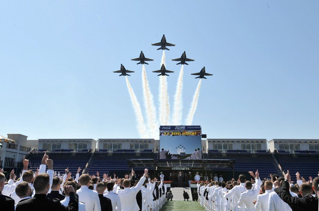 The Navy will debut a new recruiting slogan at the Army-Navy Game