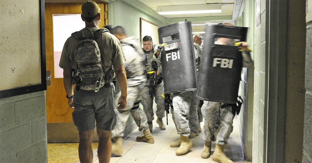 This is why US troops don't use ballistic shields