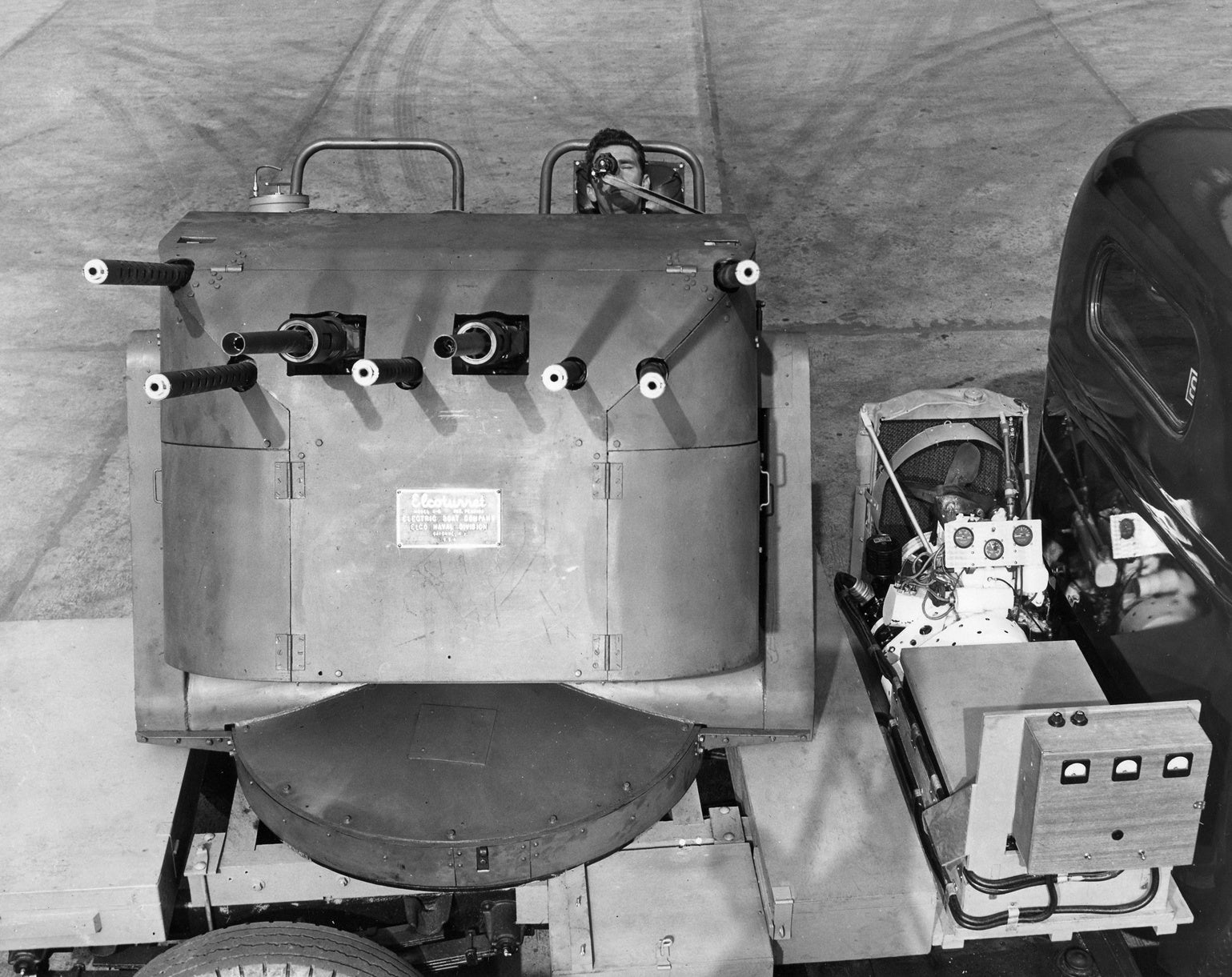 The Navy designed this lethal one-man turret in World War II