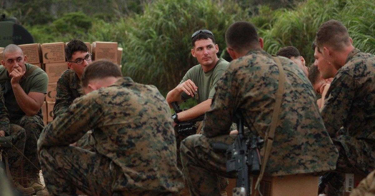 Faulty Mcfarlane Military Night Ops Marine