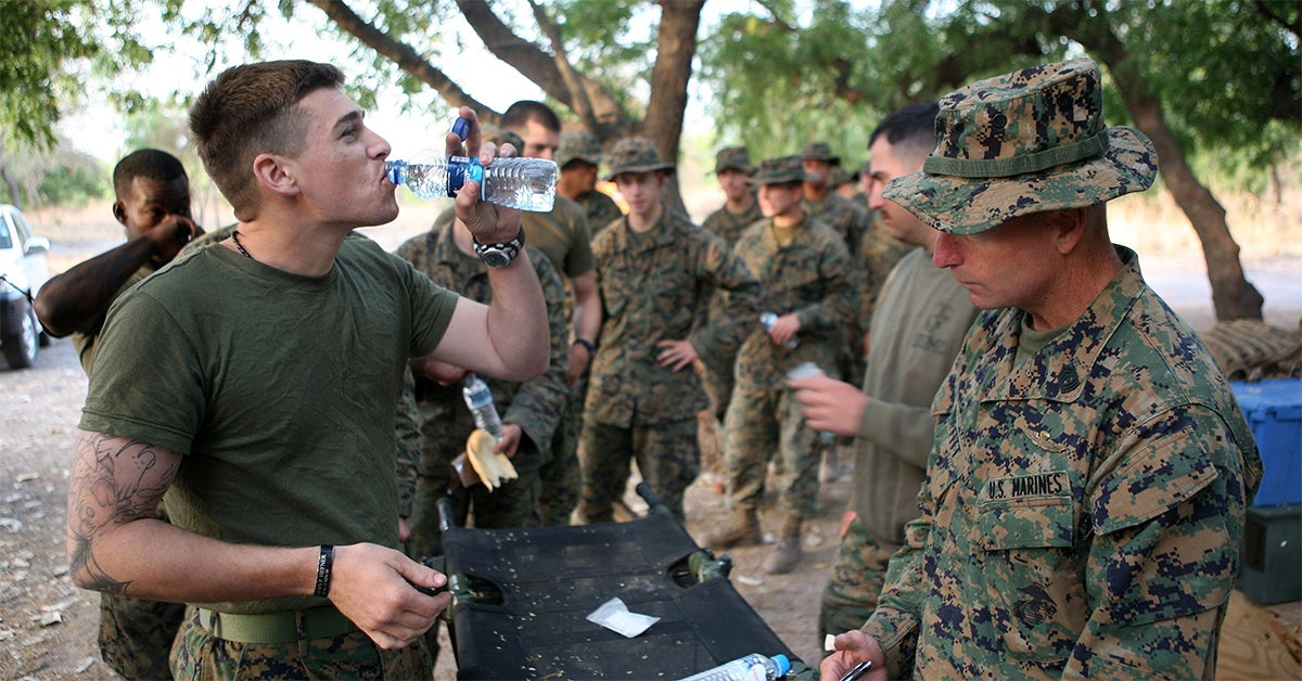 This is 'the moment of truth' everyone faces in basic training