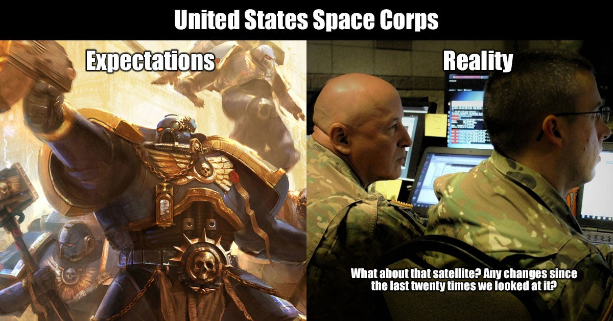 9 memes to get you hyped for the Space Corps
