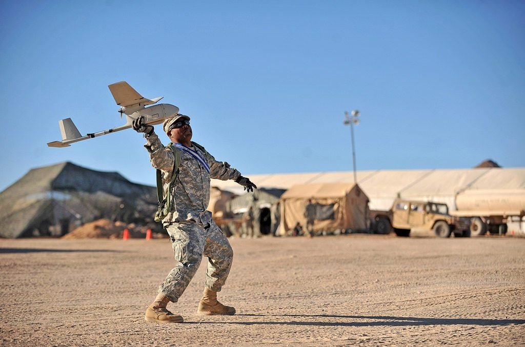 Soldiers see real-time drone feeds from new handheld devices
