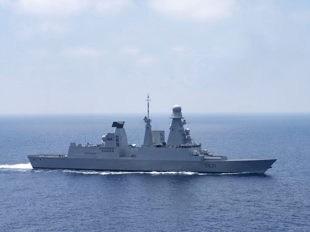 This unique French destroyer takes down ships and aircraft