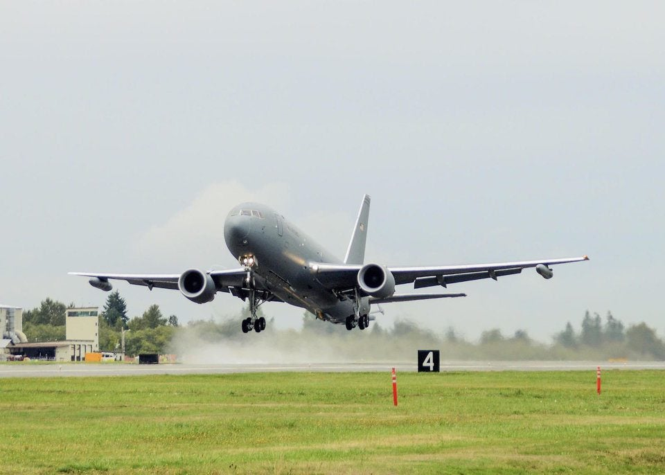 The Air Force's new tanker is going to be delayed again