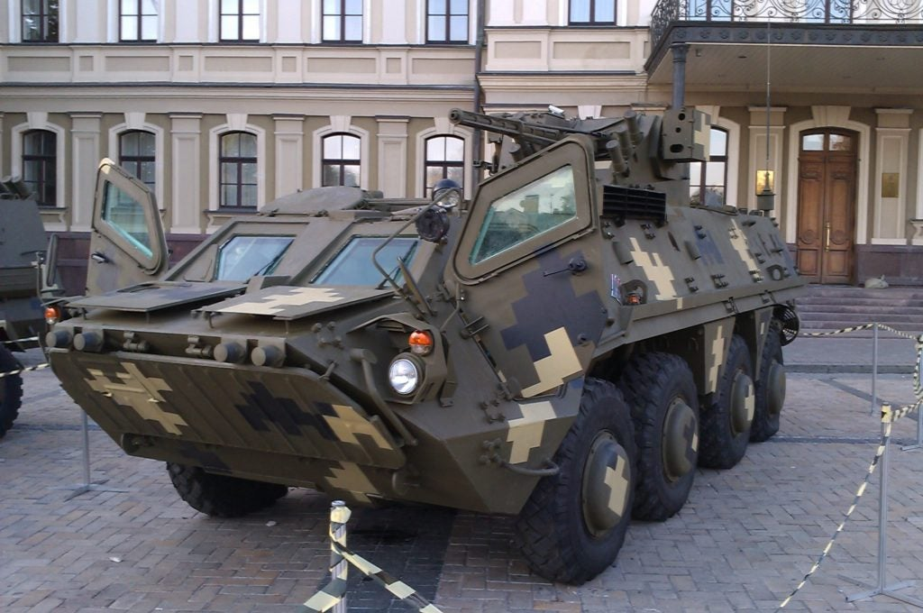 Ukraine's old 'Stryker' is its versatile armored vehicle