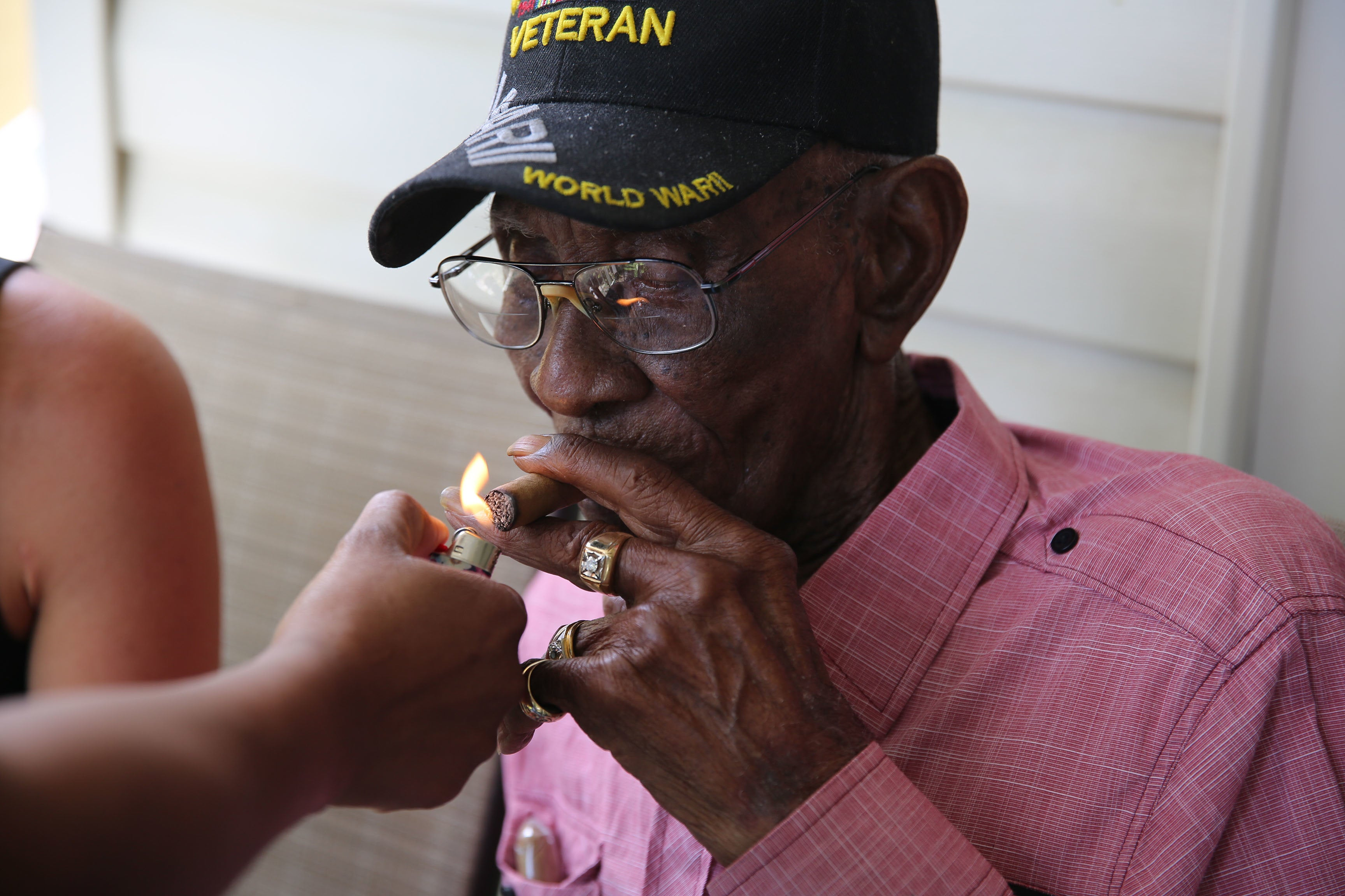 America's oldest veteran gives you the secrets to life at 112