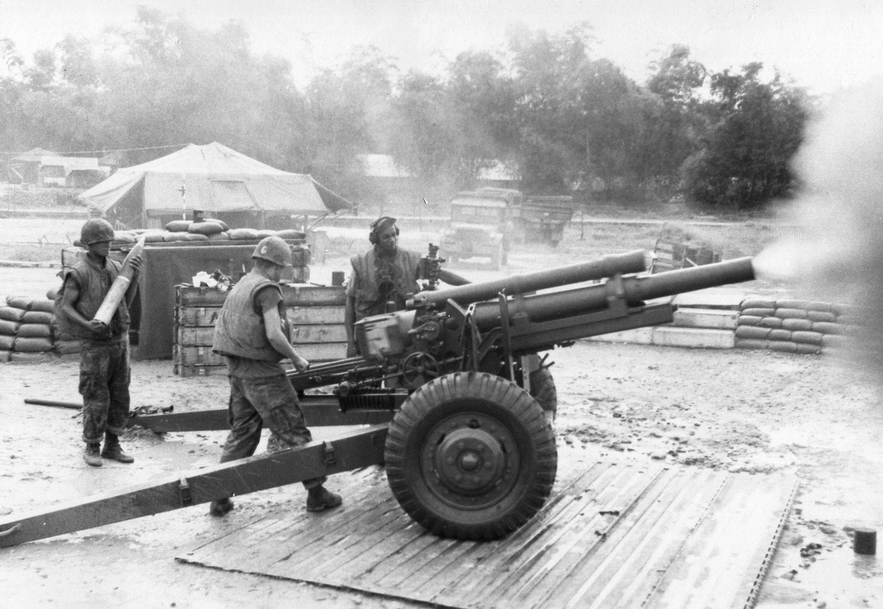 CHiPs star Larry Wilcox was a Marine artilleryman who served in Vietnam.  (USMC)