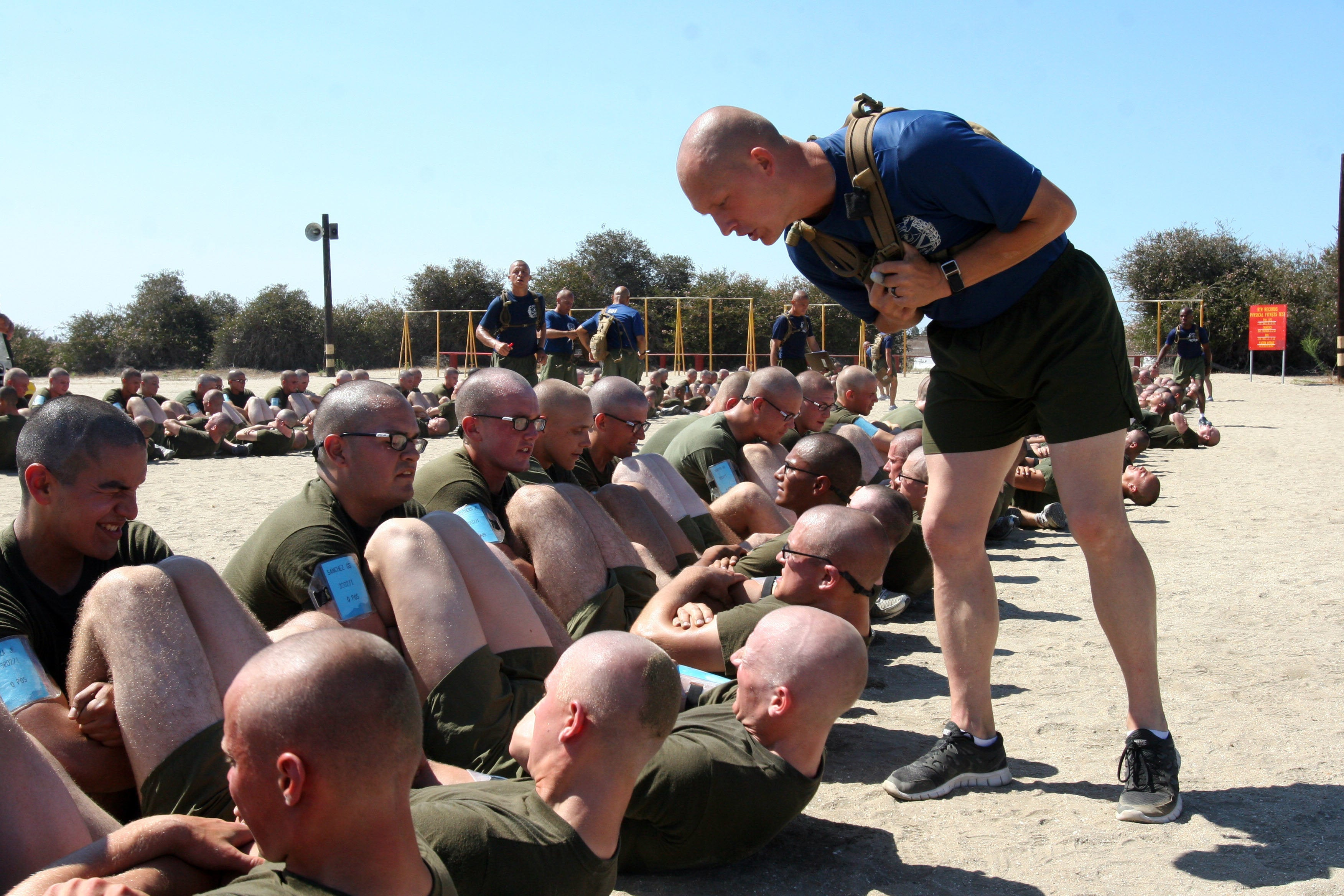 5 types of recruits you'll encounter at your first PFT
