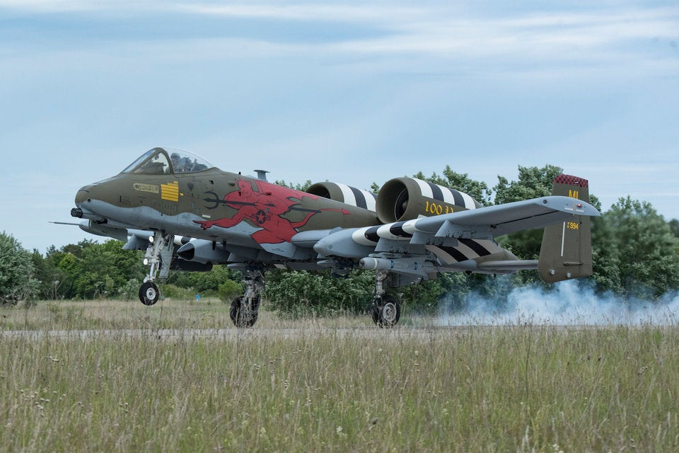 A-10s join NATO forces all along the Russian border