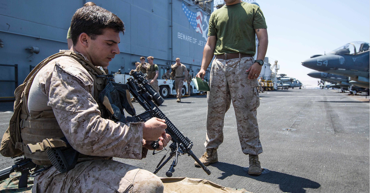6 reasons Marines go crazy for the M27 automatic rifle