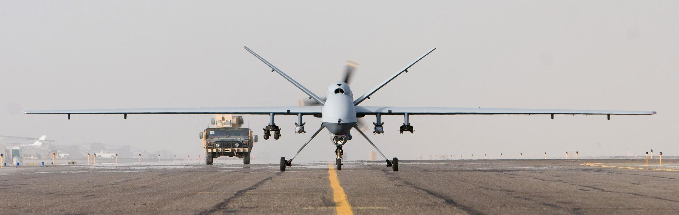 This drone killed the terrorist who ordered Malala Yousafzai's death