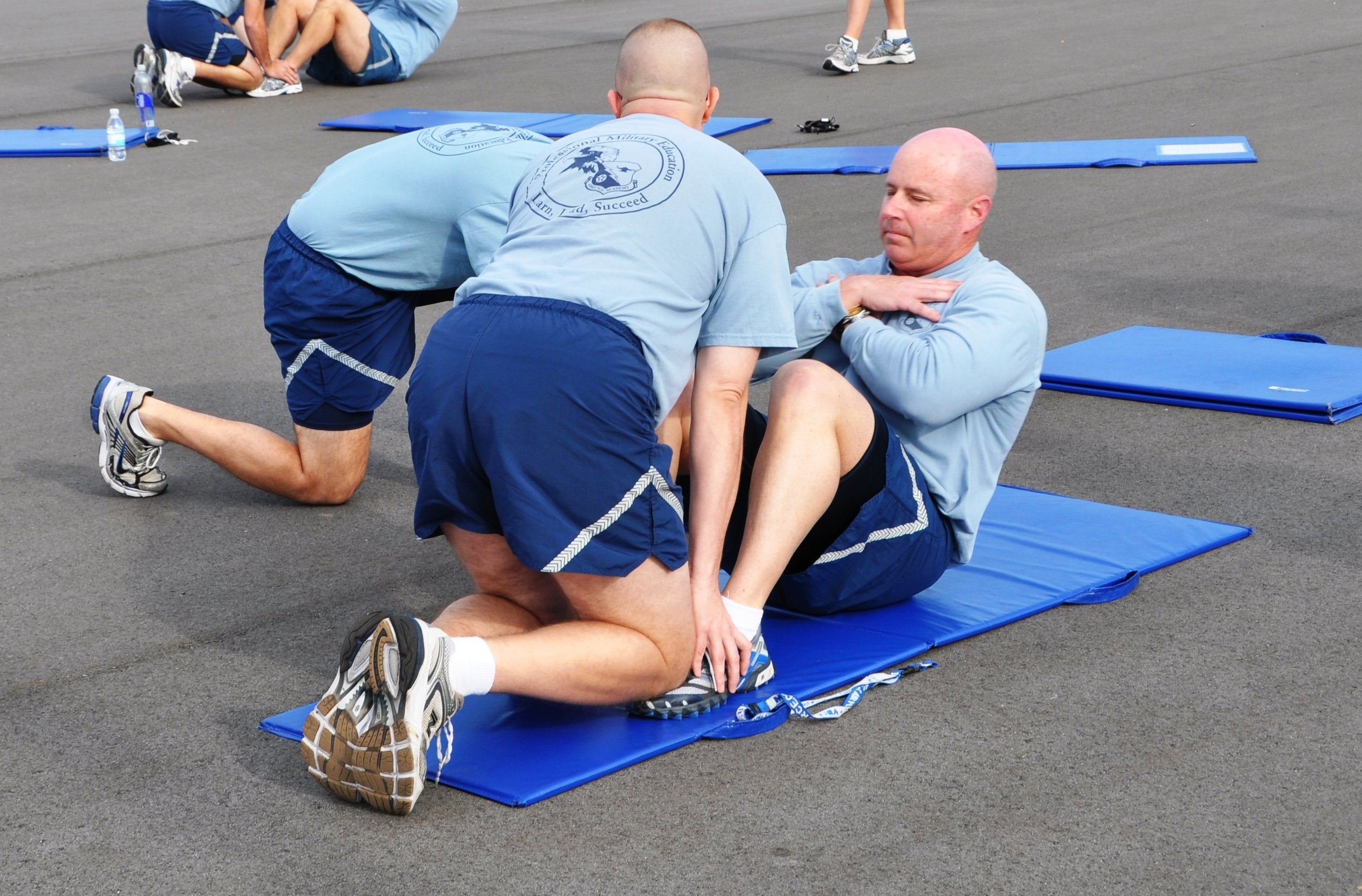 Here's what happens when veterans stop exercising