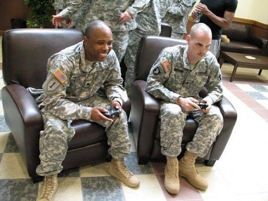 Soldiers use Twitch to build camaraderie