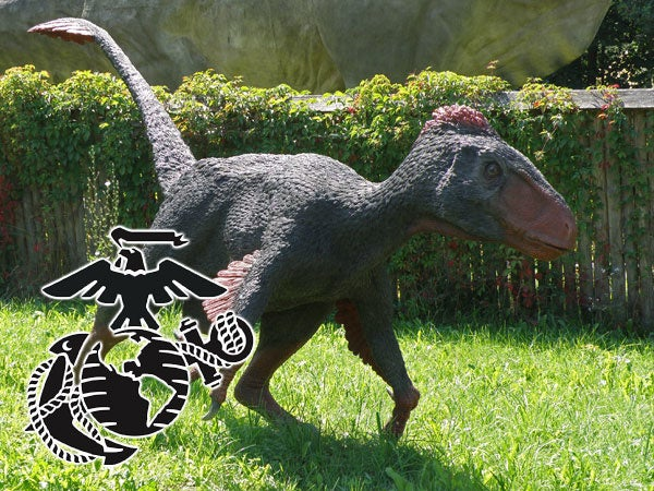 What dinosaur each branch would actually use in combat