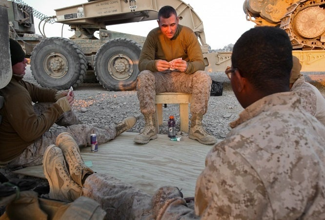 "This Marine Corporal is helping his fellow vets ""cowboy up"""