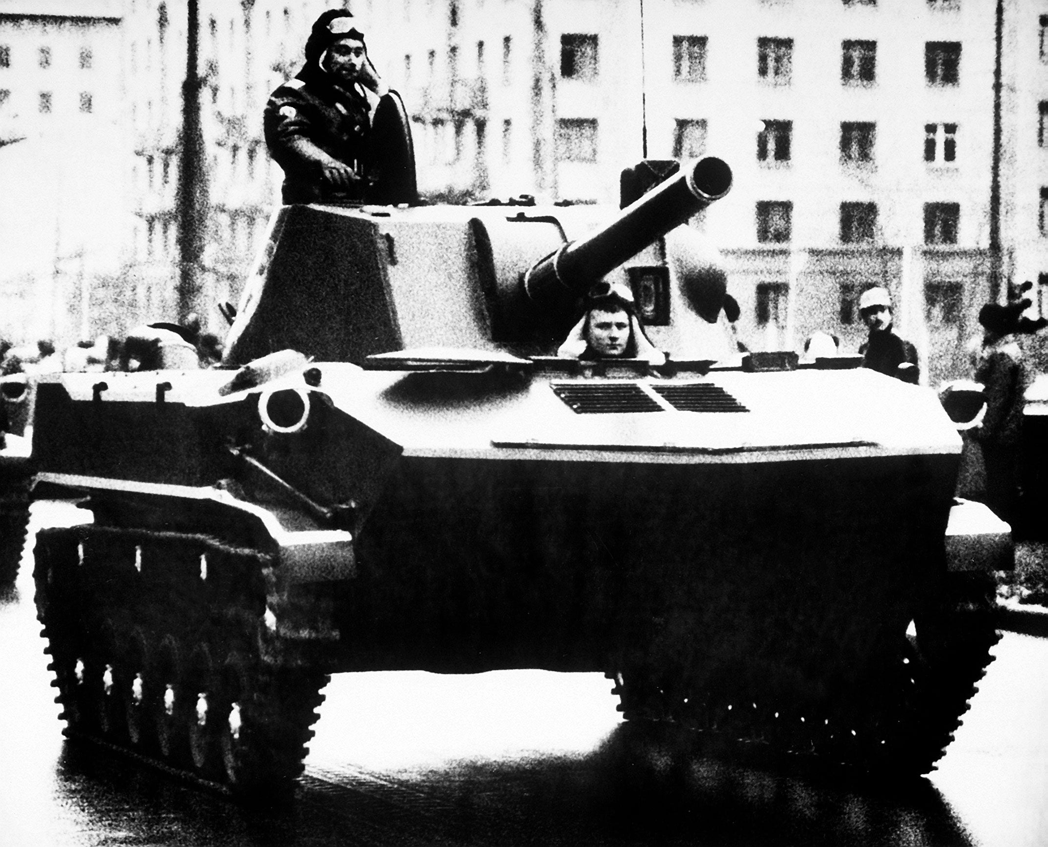 The Soviet Union also made an airborne armored personnel carrier