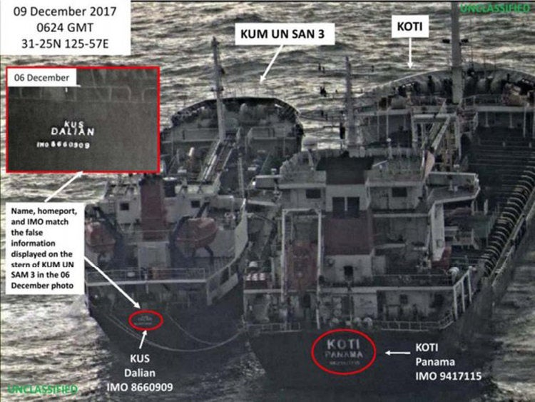 What happened after Iran-backed militias attacked an oil tanker