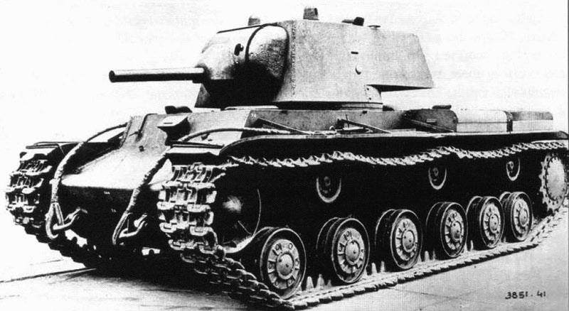 These invincible Russian tanks rolled through Nazi artillery