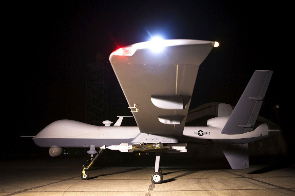 Reaper shoots down another drone in a little-known test