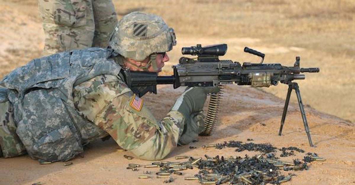 Watch: Army Marksman Splits Playing Card With a Pistol